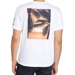 New James Perse Palm Graphic T-Shirt L (3)